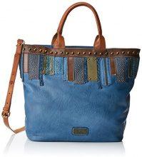 XTI 85955 - Borse a mano Donna, Blu (Jeans), 45x34x17 cm (W x H L)