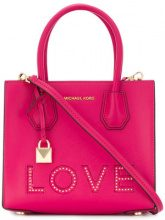 Michael Michael Kors - Love tote - women - Leather - OS - PINK & PURPLE