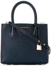 Michael Michael Kors - Borsa tote 'Mercer' - women - Leather - One Size - BLUE