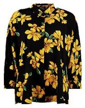 Charlie Floral Oversized Swing Shirt