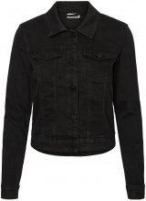 NOISY MAY Short Denim Jacket Women Black
