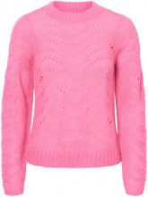 NOISY MAY Casual Knitted Pullover Women Pink