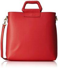 Chicca Borse 8700, Borsa a Spalla Donna, Rosso (Red), 32x31x8 cm (W x H x L)