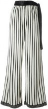 Jean Paul Gaultier Vintage - Pantaloni a palazzo - women - Viscose - 42 - WHITE