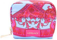 Versace - Trousse con logo - women - Nylon - OS - PINK & PURPLE