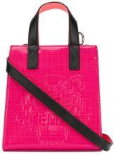 - Kenzo - Borsa 'Tiger' - women - pelle/cotone/fibra sintetica - Taglia Unica - di colore rosa