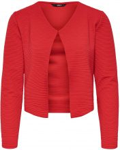 ONLY Short Knitted Cardigan Women Red