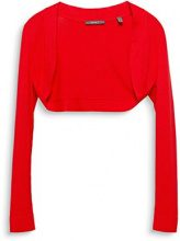 ESPRIT Collection 028eo1i024, Cardigan Donna, Rosso (Red 630), Medium