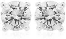 Bijoux pour tous - Orecchini, Ossido di zirconio, Argento Sterling 925