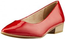 Marco Tozzi 22207, Scarpe con Tacco Donna, Rosso (Chili Patent), 37 EU