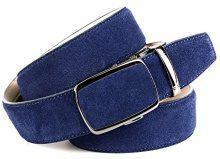 Anthoni Crown 30S80, Cintura Uomo, Blau (Blau 080), 95