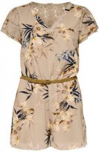 ONLY Printed Playsuit Women Beige