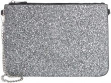 PIECES Glitter Crossbody Bag Women Silver