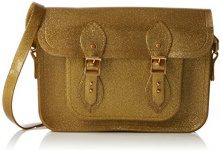 Melissa Cambridge Satchel - Borse a secchiello Donna, Gold (Gold Glitter), 6x21x26 cm (W x H L)