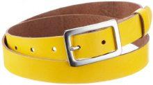 MGM - Cintura, donna 2,5 cm di larghezza Giallo (Gelb) 75- DE