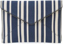 Rebecca Minkoff - envelope clutch - women - Cotton - OS - BLUE