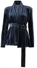 Mariana Boutique Velvet Lined Shawl Collar Jacket