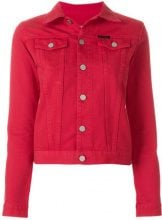 Ck Jeans - Giacca denim - women - Cotton - XS, S - RED