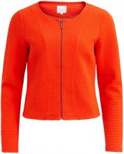 VILA Simple Cardigan Women Orange