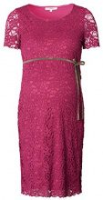 Noppies Dress Ss Celia 70340, Abiti Premaman Donna, Rot (Warm Red C083), 36