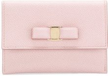 Salvatore Ferragamo - Vara bow wallet - women - Calf Leather - OS - PINK & PURPLE