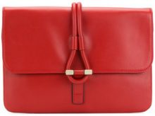 Tila March - Borsa clutch 'Romy' - women - Cotton/Leather - OS - RED