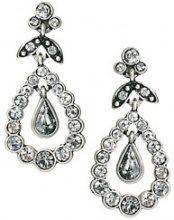 Cath Kidston - Orecchini pendenti con cristalli - Argento