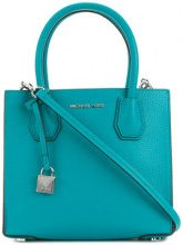 Michael Michael Kors - Mercer medium tote - women - Leather - OS - BLUE