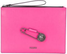 Versus - Clutch - women - Calf Leather - OS - PINK & PURPLE