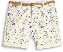 ESPRIT 067ee1c005t, Pantaloncini Donna, Multicolore (Cream Beige 295), 34