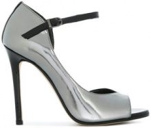 Marc Ellis - Pumps con punta aperta - women - Leather/Patent Leather - 36, 37, 38, 39, 40 - METALLIC