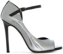 Marc Ellis - Pumps con punta aperta - women - Leather/Patent Leather - 37, 38, 39, 40 - Metallizzato