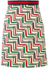 Gucci - patterned pencil skirt - women - Acetate/Silk/Wool - 38, 42, 44 - MULTICOLOUR