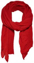 ONLY Solid Scarf Women Red