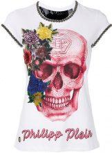 Philipp Plein - T-shirt 'Let Me Dance' - women - Cotton - S, M, L, XS - WHITE