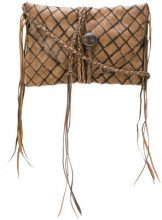 Caravana - Clutch 'Anya' - women - Calf Leather - OS - BROWN