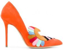 Paula Cademartori - Iris Classic - women - Goat Skin/Leather/Goat Suede - 36, 37, 38, 38.5, 40, 41 - YELLOW & ORANGE