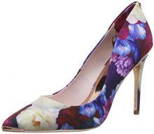 Ted Baker Kaawap, Scarpe con Tacco Donna, Multicolore (Blushing Bouquet), 41 EU