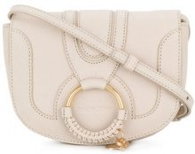 See By Chloé - Borsa a spalla piccola 'Hana' - women - Leather/Calf Leather - One Size - NUDE & NEUTRALS