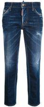 Dsquared2 - boyfriend jeans - women - Cotton/Spandex/Elastane/Polyester - 38, 40, 42, 36 - BLUE