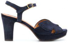 Chie Mihara - Sandali 'Ebisa' - women - Calf Leather/Calf Suede/rubber - 37, 37.5, 40, 40.5 - BLUE
