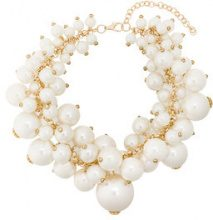 Edward Achour Paris - Collana con perle oversize - women - Pearls/metal - OS - WHITE