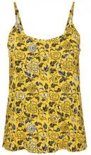 NOISY MAY Feminine Singlet Women Yellow