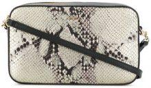 Furla - Lilli snake-effect crossbody bag - women - Leather/Viscose/Nylon - OS - METALLIC