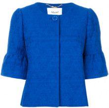 Blugirl - Giacca crop - women - Cotton - 42, 46 - BLUE