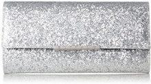 Buffalo 4101035 - Pochette da giorno Donna, Argento (Silver)