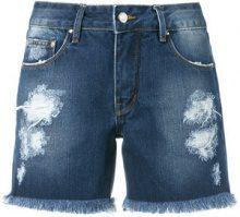 Amapô - denim shorts - women - Cotone - 38, 40, 42, 44, 34, 36, 46 - BLUE