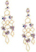 Gas Bijoux - Belinda earrings - women - 24kt Gold Plate/glass - OS - METALLIC