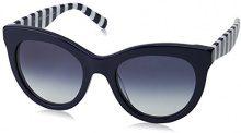 Tommy Hilfiger TH 1480/S Ir 807 51, Occhiali da Sole Donna, Nero (Black/Grey Blue)