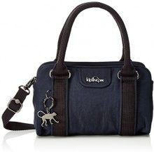 Kipling Bex Mini - Borse a secchiello Donna, Blau (Deepest Blue), 22x14x10 cm (B x H T)